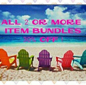 BUNDLES 30% OFF !